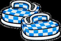 Zapatos a Cuadros Celestes icono