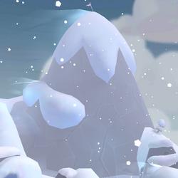 Cima de la Montaña Ventisca