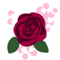 Decal Rose prom icon