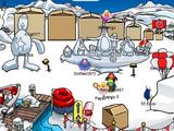 Galería de Esculturas de Nieve