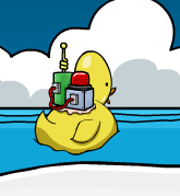 Rubber Duck inflated