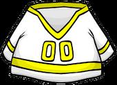 Yellow Away Hockey Jersey clothing icon ID 4480