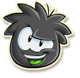 Blk puffle selected