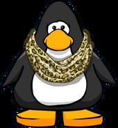 Bufanda Estanmpada de Leopardo carta