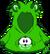 Cangurito de Mapache Verde icono