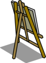 Easel sprite 008
