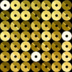 Fabric Sequins Gold icon