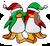 Pin de Pingüinos Abrazados