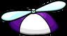 Purple Propeller Cap icon