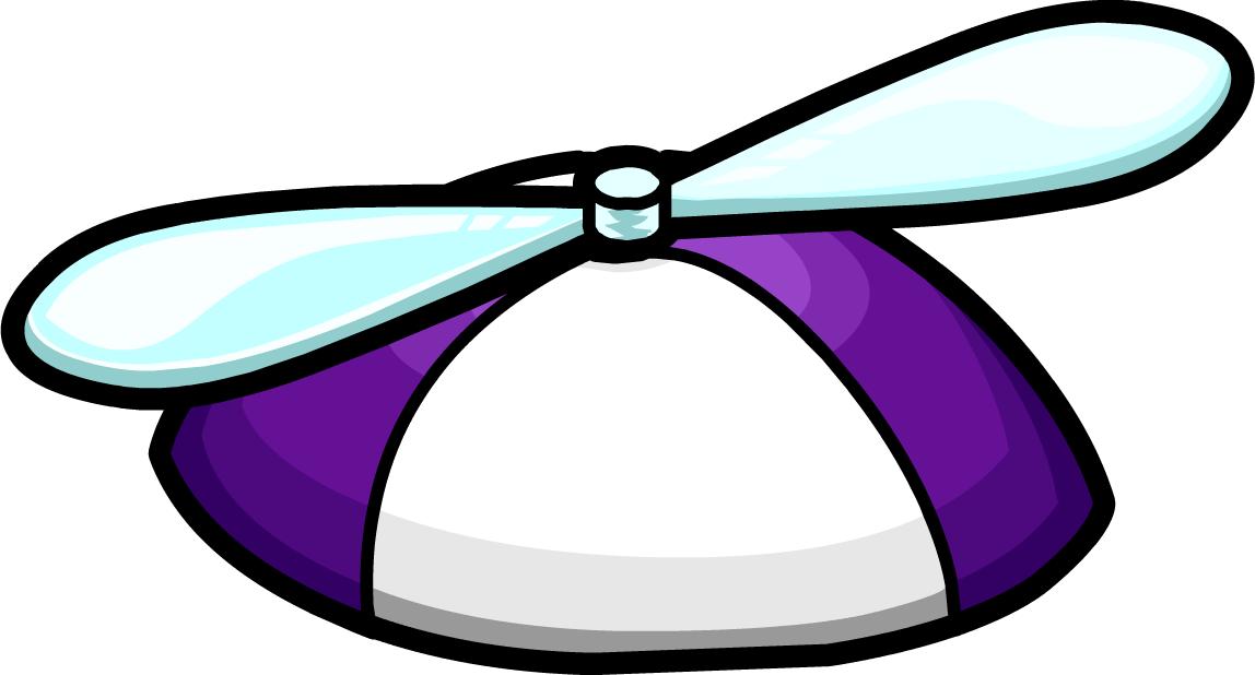 bf92947ead928 Purple Propeller Hat