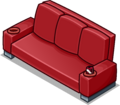Red Designer Couch sprite 007