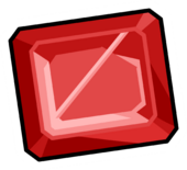 Square-Ruby-Pin