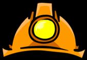 Casco de minero para jugadores