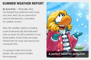 Frozen Weather Report