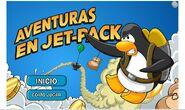 """Portada del juego """"Aventuras en Jet-Pack"""""""