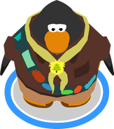 Puffle Guide Uniform in-game