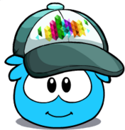 RainbowMatrixPuffleHat2