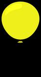 Yellow Balloon sprite 005