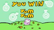 Yum Yum victory