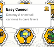 Easy cannon stamp book