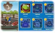 Kermit la rana como personaje