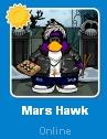 Mars Hawk conectado en la Lista de Amigos