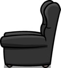 Plush Gray Chair sprite 003
