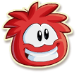 Red puffle selected