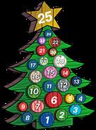 2016 Advent Calendar Snow Forts tree