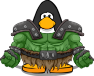Armored Ogre Costume from a Player Card