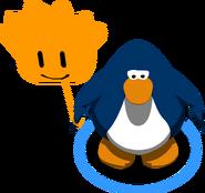Globo de Puffle Naranja juego