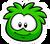 GreenPufflePin