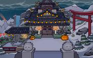 Patio del dojo halloween