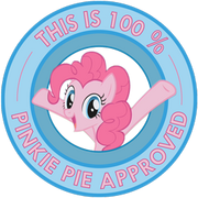 Pinkie pie approved