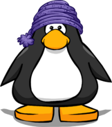 Purple Toque from a Player Card