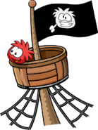 Red Puffle Crows Nest