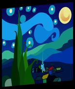 Starry Night Painting sprite 001