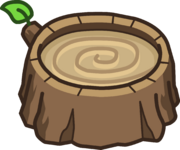 Asiento de Tocón de Árbol icono