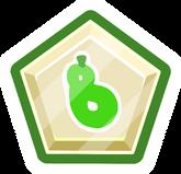 Club Penguin Pin - Pin de puffito verde