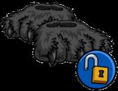 Grey Werewolf Feet clothing icon ID 16132