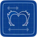 Blueprint punkMascara icon