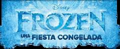 Frozen Una Fiesta Congelada Logo Limpio