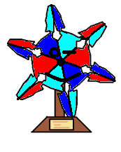 Kindness snowflake award