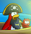Rockhopper and Yarr seeing the signals