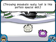 Bouncer white puffle