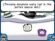 Bouncer white puffle
