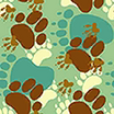 Fabric Paw Prints icon