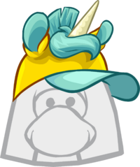 Gorra de Unicornio Amarillo icono