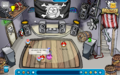 Night club in party pirate
