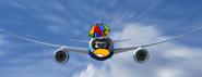 Thinkdoodle's airplane
